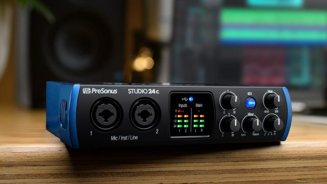 Home-studio-audio-interface