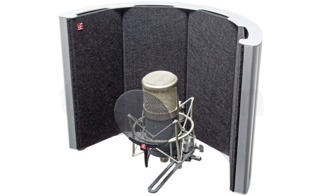 Reflection filter for small home studios