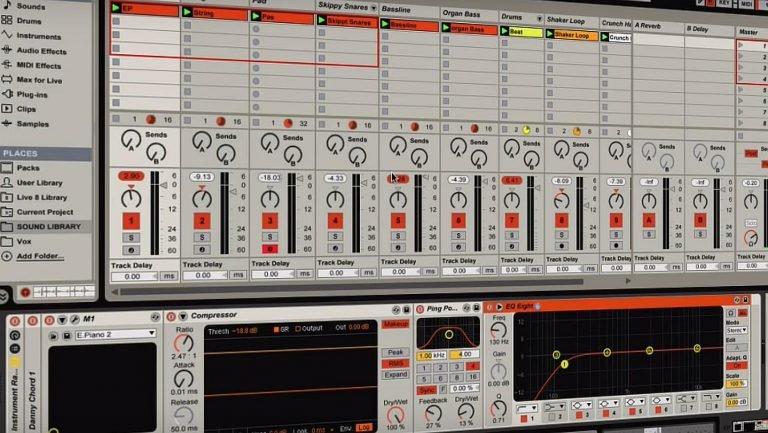 Ableton Live tutorial - arrangement